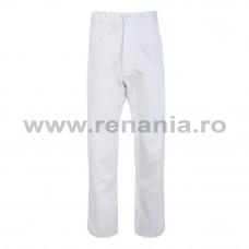 Pantalon standard alb Teo White, art.3B76 (90812A)