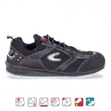 Pantof de protectie cu bombeu aluminiu si lamela, art.2A32 S1P (PETRI)