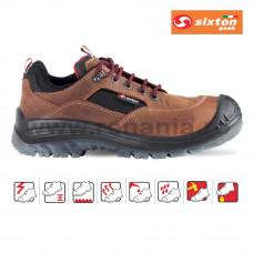 Pantof de protectie cu bombeu compozit si lamela Brown Land, art.A283 S3 (2559)