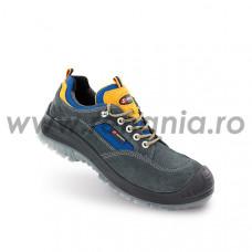 Pantof de protectie cu bombeu compozit si lamela antiperforatie NM, LAND S1P, art.A460L (81153-02)