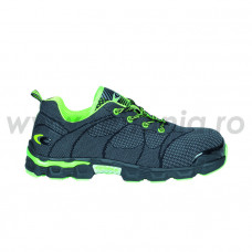 Pantof de protectie cu bombeu din aluminiu si lamela antiperforatie non-metalica A599, art.A599 (BEACH-SOCCER-GREY)