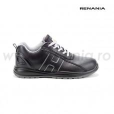 Pantof de protectie cu bombeu din compozit si lamela antiperforatie non-metalica  CHARCOAL S3 SRC, art.A300 (2723)