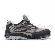 Pantof de protectie cu bombeu din compozit si lamela antiperforatie non-metalica  SILVERSTONE S1P SRC, art.A331 (4100)