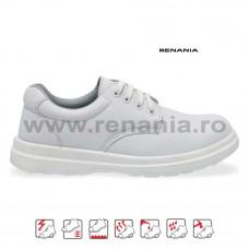 Pantof de protectie cu bombeu metalic Belle, art.A306 S1 (2901)