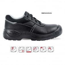 Pantof de protectie cu bombeu metalic Worktec, RENANIA, art.A010 S1 (2005)