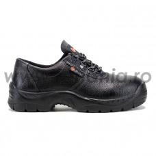 Pantof de protectie cu bombeu metalic, art.A123 MANJACK S1 SRC  (2250)