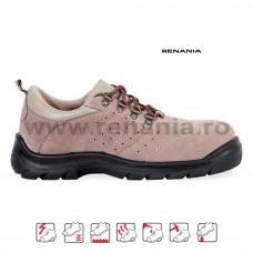 Pantof de protectie cu bombeu metalic si lamela Dakar, RENANIA, art.A028 S1P (2014)