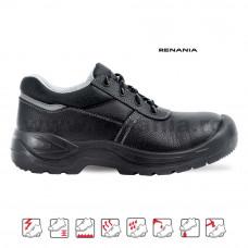 Pantof de protectie cu bombeu metalic si lamela Worktec, RENANIA, art.A014 S3 (2007)