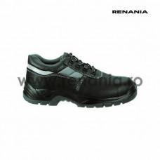 Pantof de protectie cu bombeu metalic si lamela antiperforatie, VARESE S3 , RENANIA, art.A077 (2140S3)