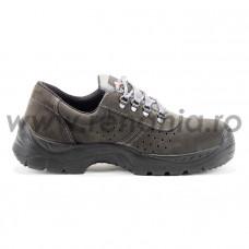 Pantof de protectie cu bombeu metalic si lamela antiperforatie, art.A122 NILE S1P SRC  (2242)