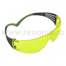 Ochelari de protectie 3M SECURE FIT cu lentile galbene, art.13D8 (SF403)