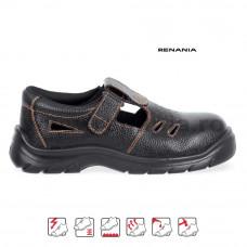 Sandale de protectie cu bombeu metalic New Latina, RENANIA, art.A334 S1 (4106)
