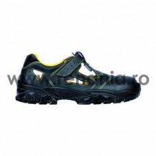 Sandale de protectie cu bombeu metalic si lamela antiperforatie NEW-DON S1P , art.1A65 (NEW-DON)