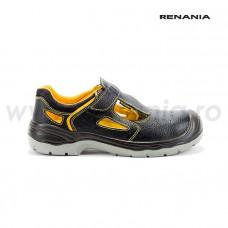 Sandale de protectie cu bombeu metalic si lamela antiperforatie  NEW YANTAI S1P SRC, RENANIA, art.A346 (4118N)