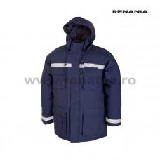 PRAG téli rövid kabát fényvisszaverő  csíkkal               art.2B73 (9061)